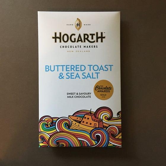 Image of Hogarth Chocolate 48% Milk Chocolate with Buttered Toast & Sea Salt