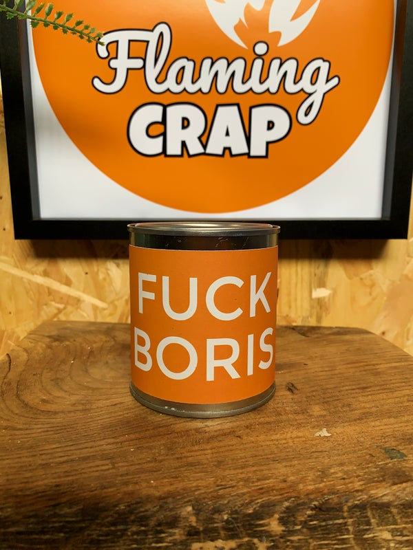 Image of 'Fuck Boris' Candle