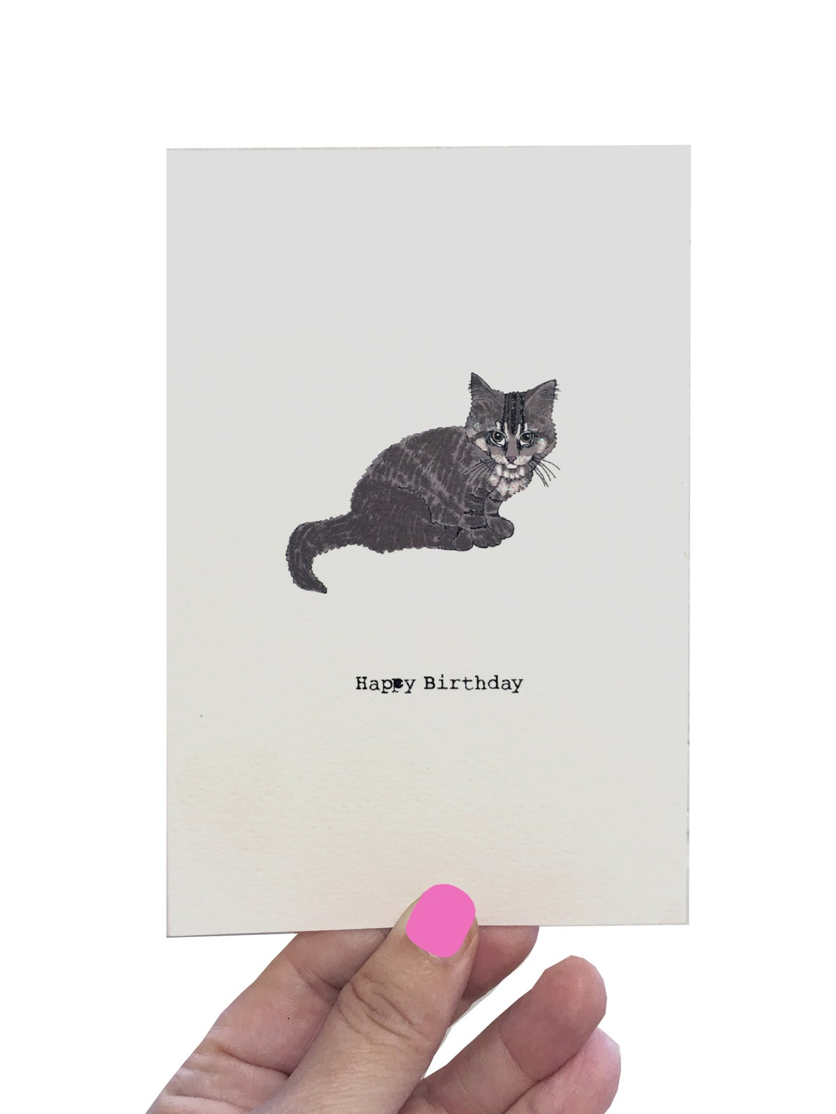**NEW** Elvis Cat Birthday Card