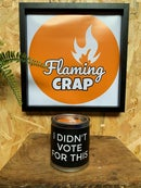 Image 3 of 'I Didn't Vote For This' Candle