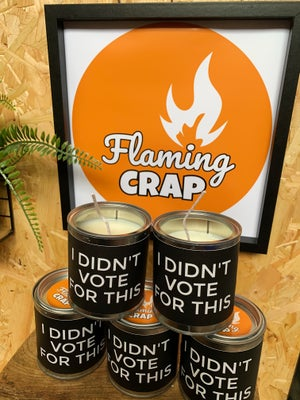 'I Didn't Vote For This' Candle