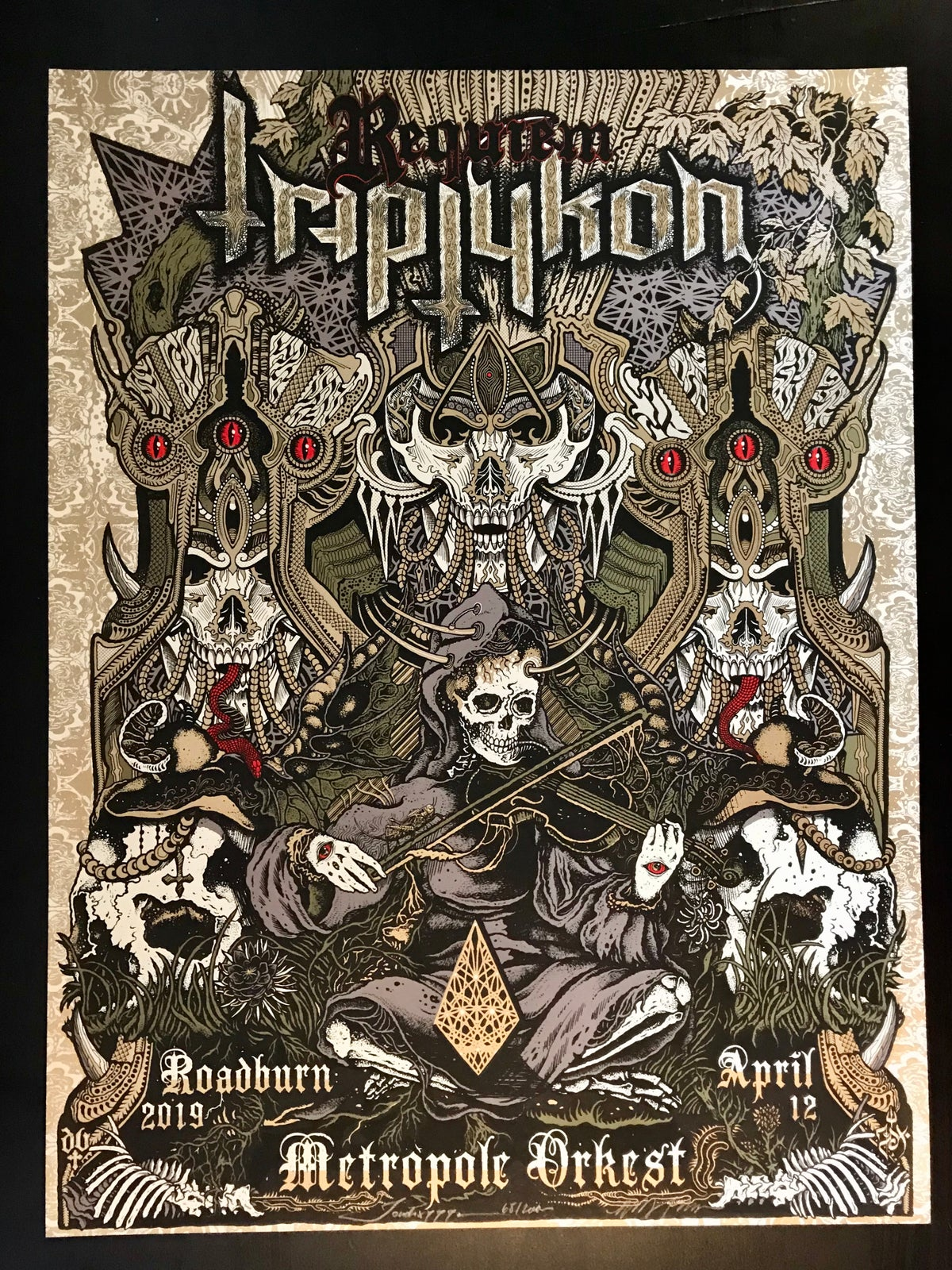 Image of Triptykon print by Jondix