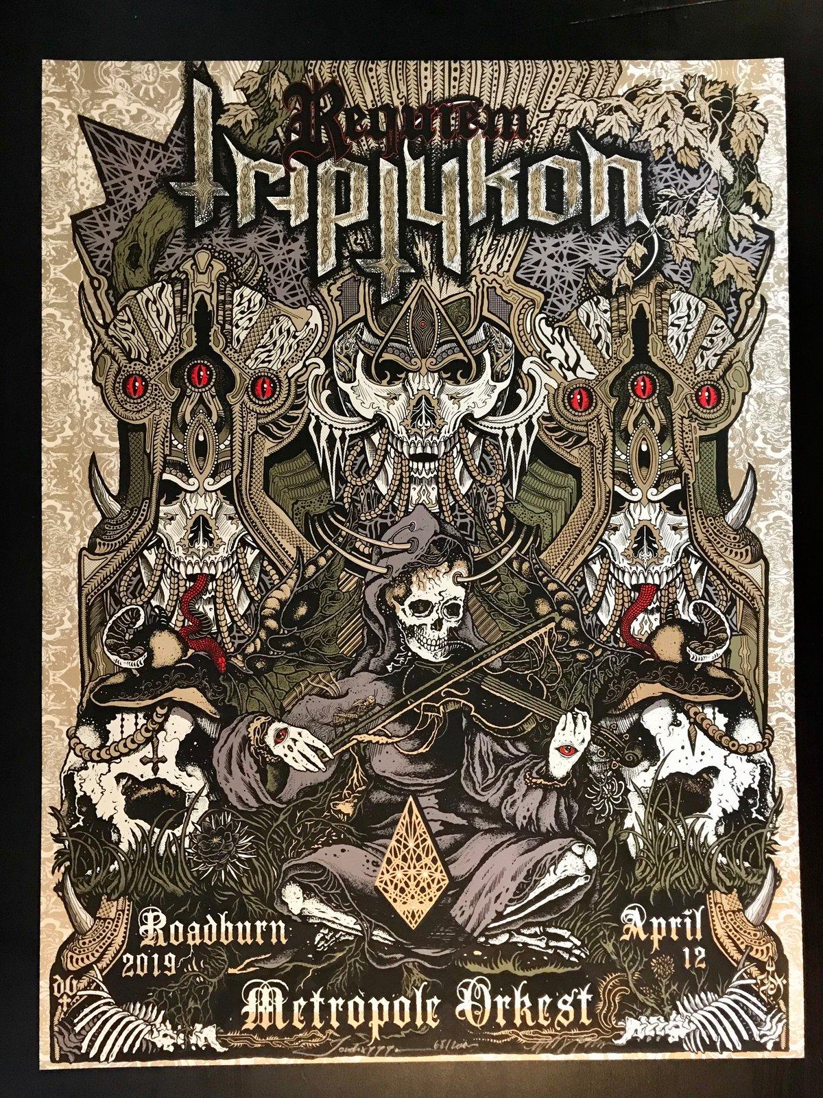 Image of Triptykon print by Jondix