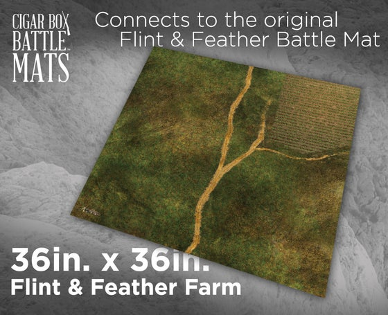 Image of Flint & Feather Farm -- 3' x 3' -- #471