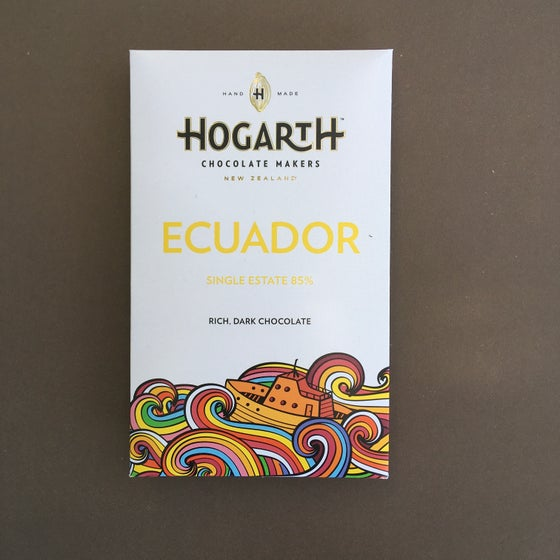 Image of Hogarth Chocolate 85% Ecuador (Hacienda Victoria) Dark Chocolate