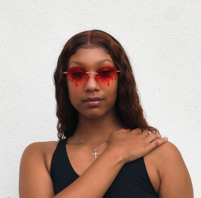 Image of Came through Drippin' Sunnies  (Red)