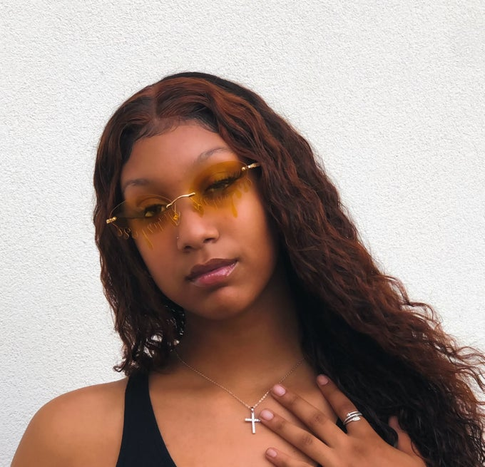 Image of Came through Drippin' Sunnies  (Yellow)