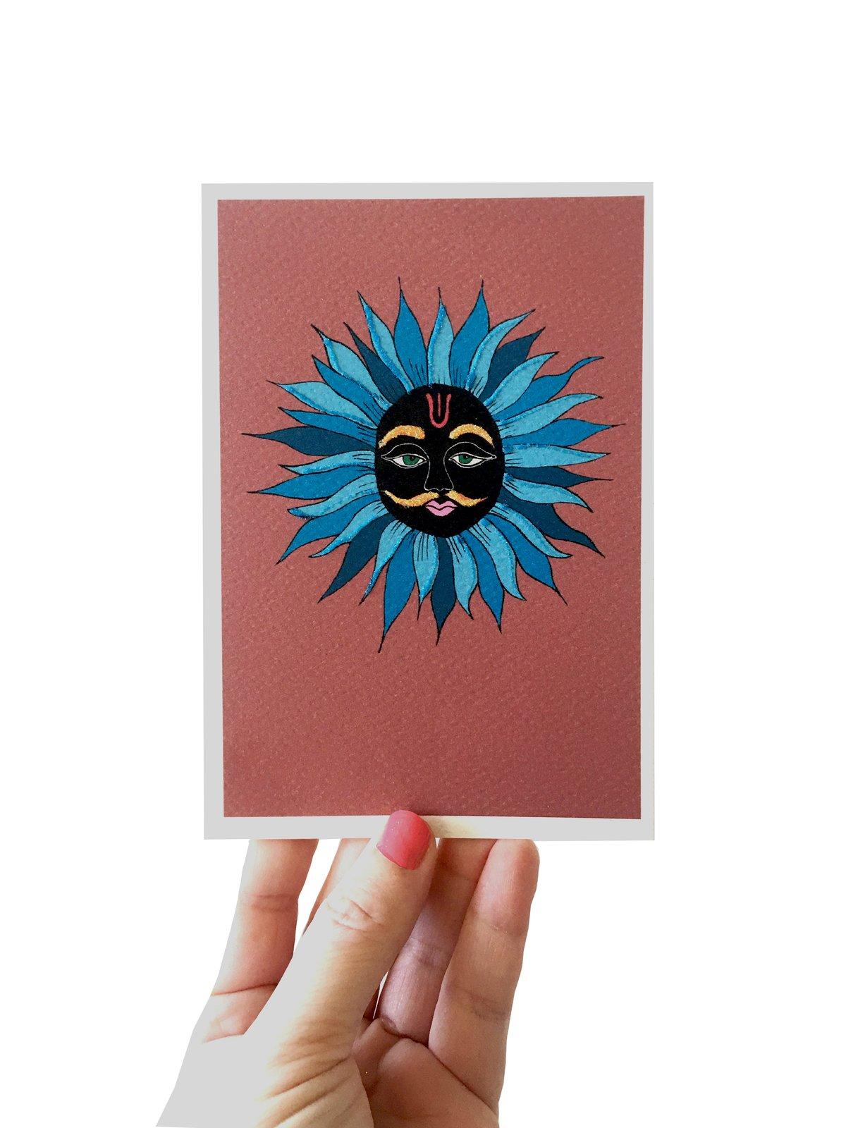 Sun God India Card