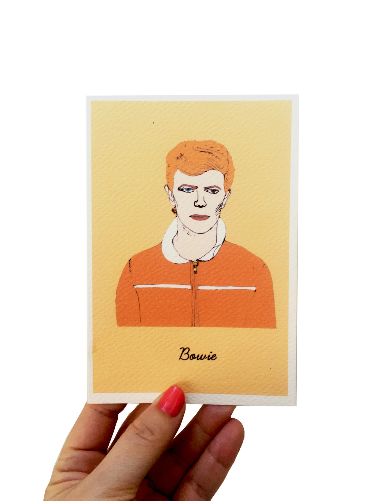David Bowie Iconic figures Card