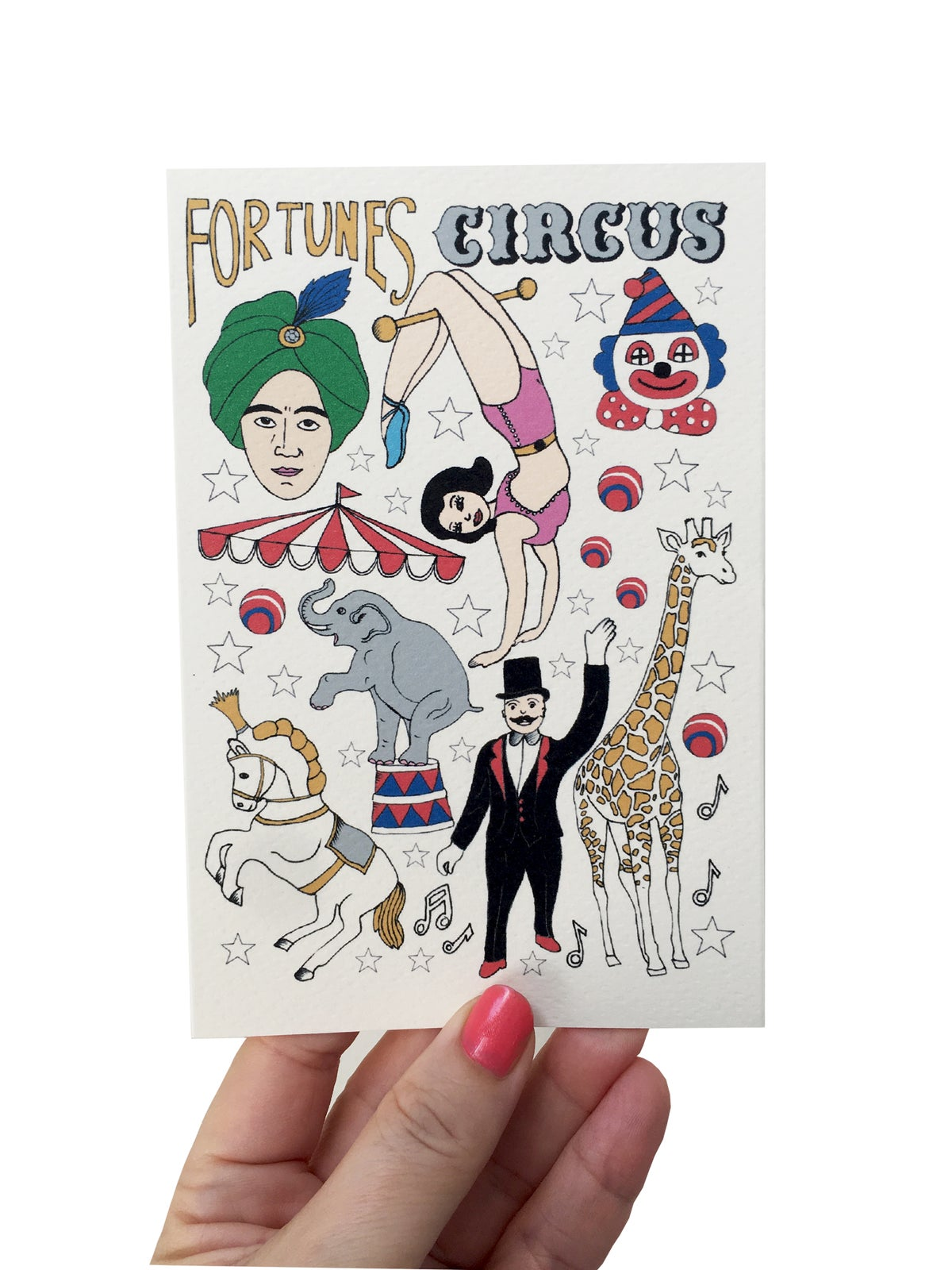 Circus Flash Card