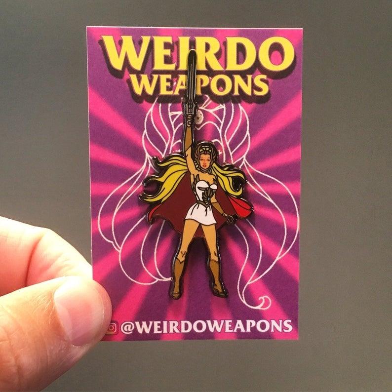 Image of  She-Ra: Princess of Power pin