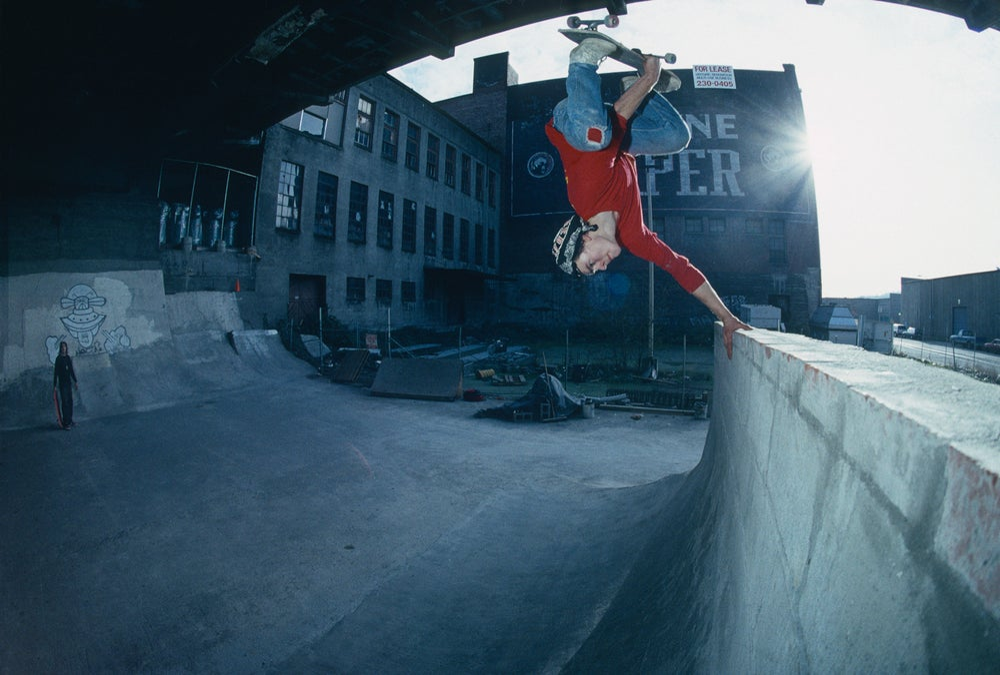 "Mark ""Red"" Scott Punk Wall 30 years of Burnside 1991 by Tobin Yelland"