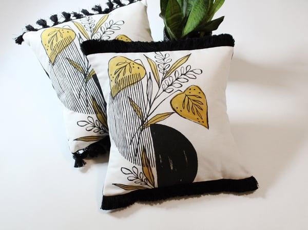 Image of Midnight Foliage Pillows