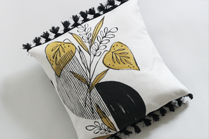 Image of Midnight Foliage Pillows