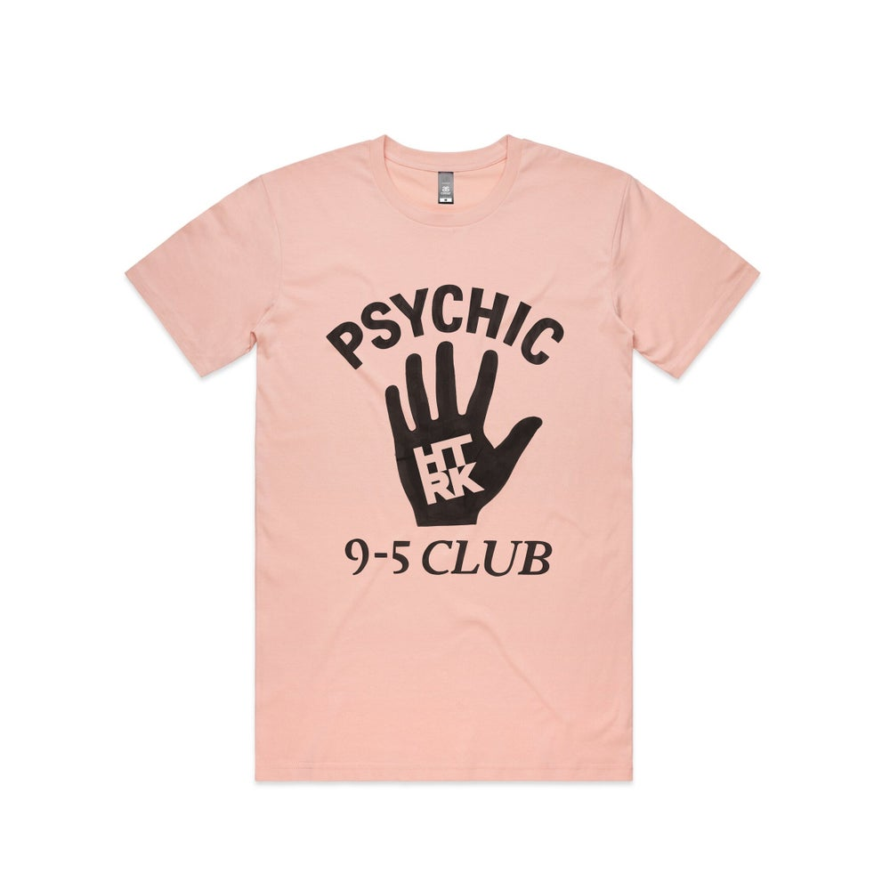 Image of Psychic 9-5 Club T-shirt