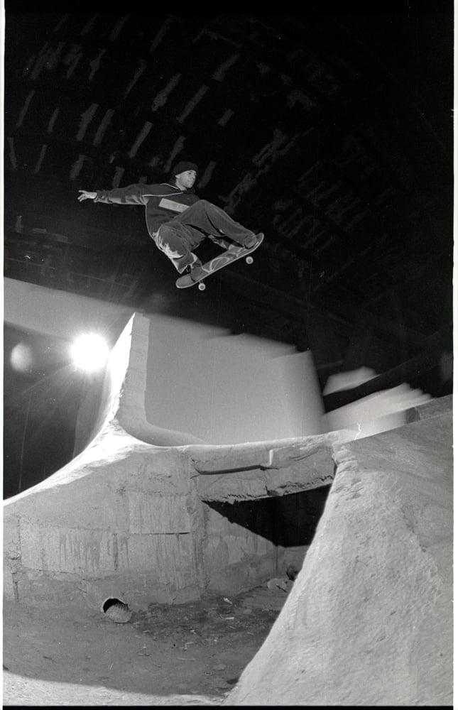 Brian Ferdinand Burnside 1991 by Tobin Yelland