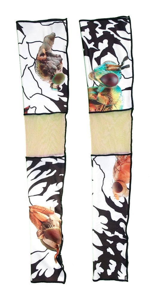 Image of Ungeziefer'  arm warmers ( white / a pair )