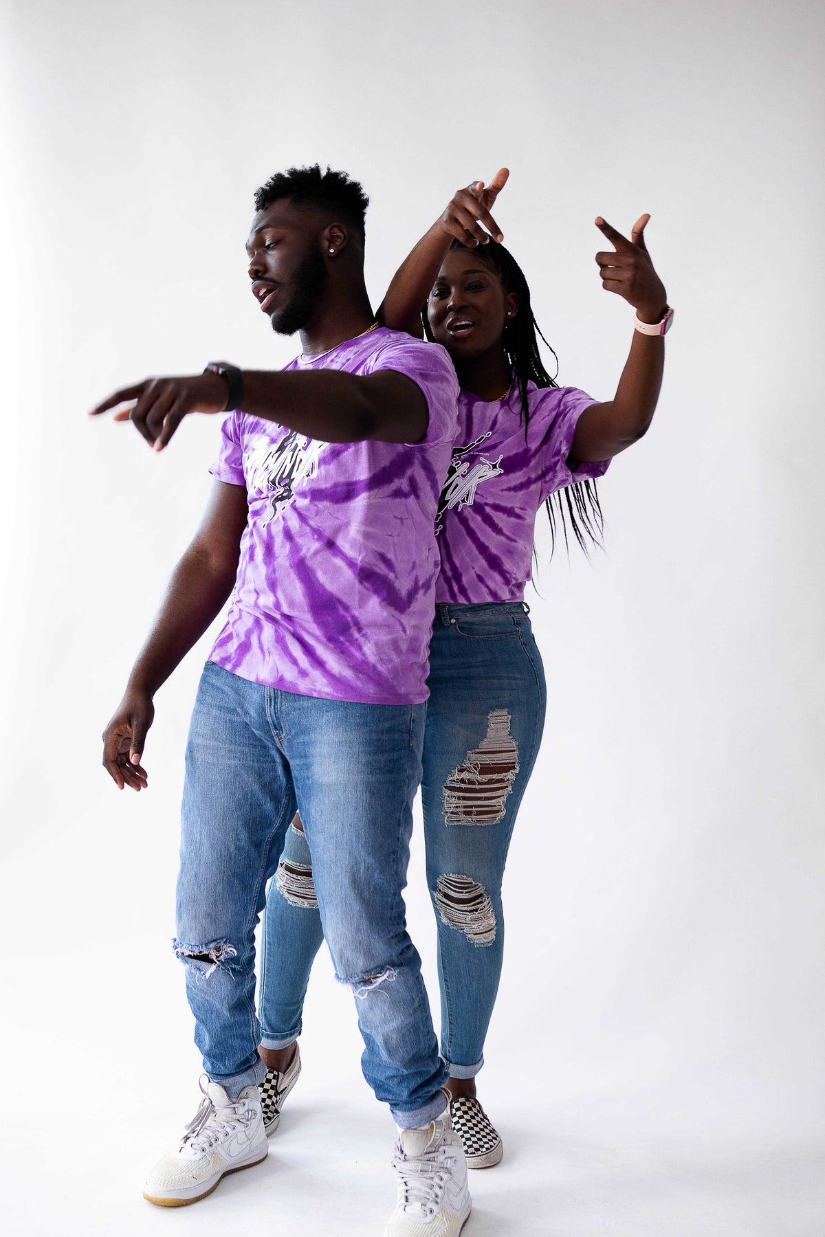 "Image of ""Awethentic"" Tye-Dye Tee"