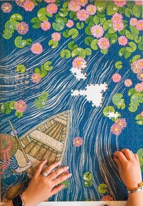 Image of NEW: 1000 piece puzzle LILYPADS