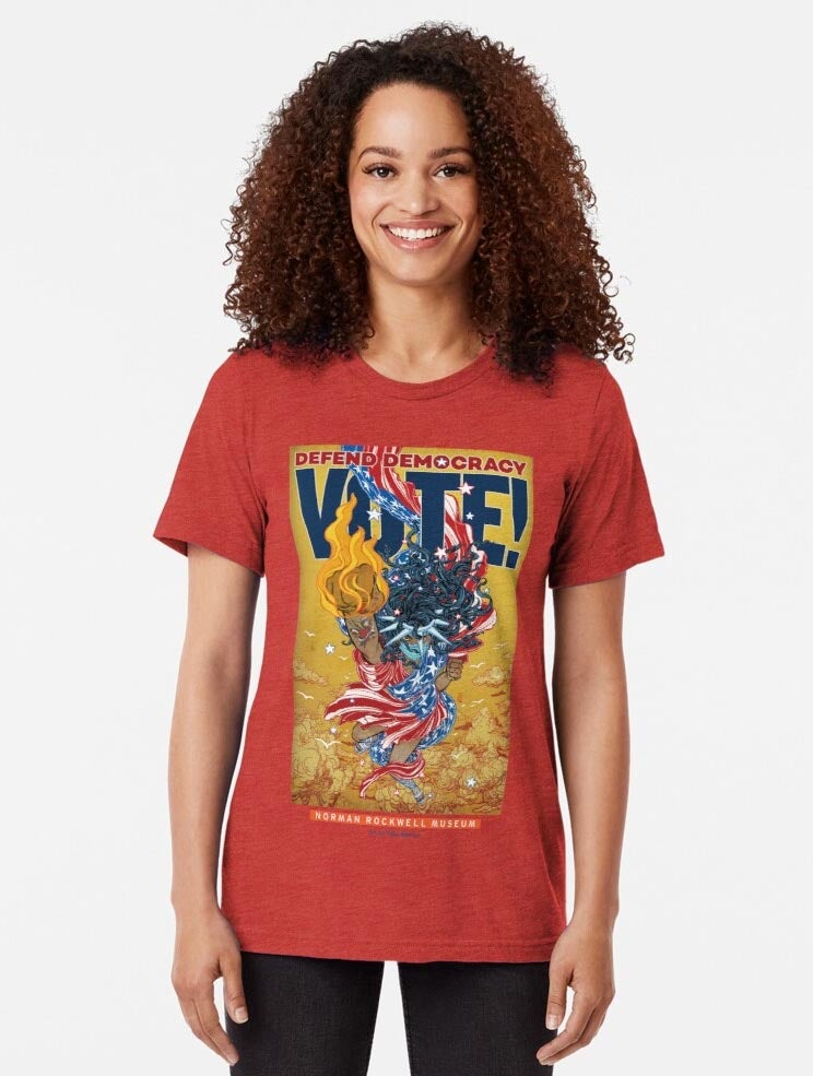 Image of NEW: VOTE! T shirts and other apparel