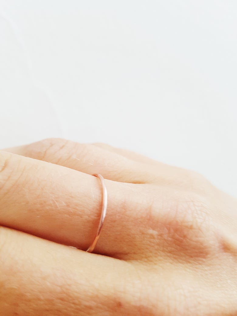 Image of Fine Copper Ring