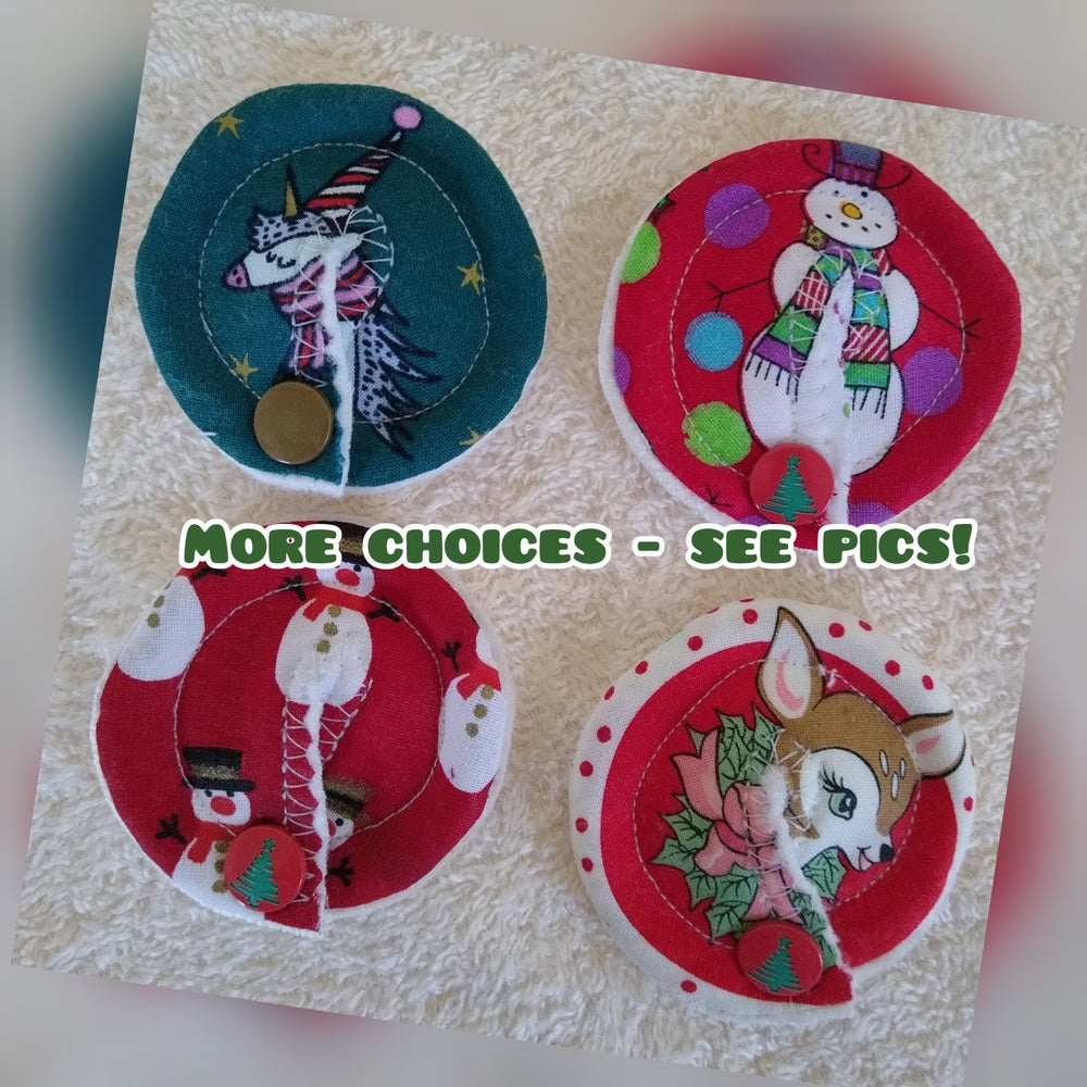 Image of Christmas Tubie Pads Various designs
