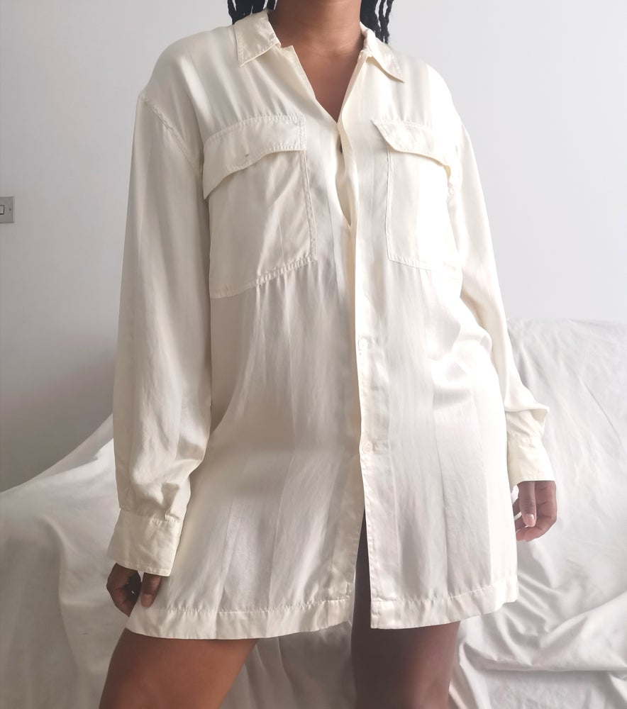 Image of beryl shirt dress
