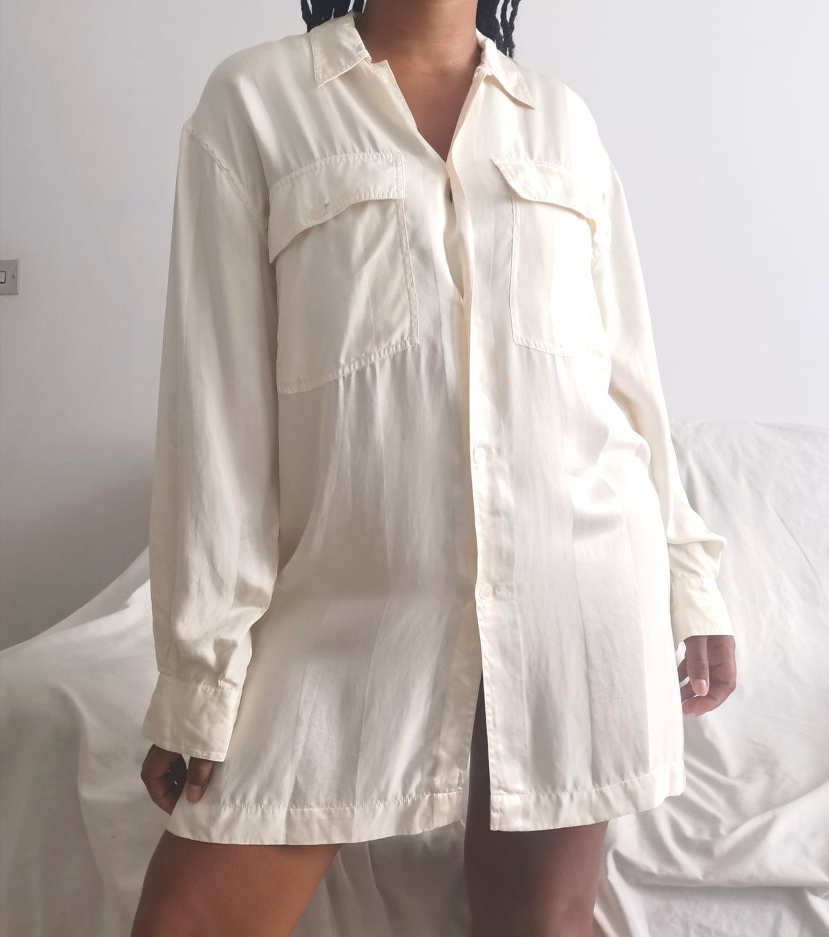 Image of beryl shirt dress