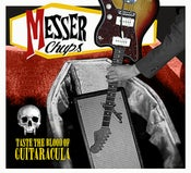 Image of LP. Messer Chups : Taste The Blood Of Guitaracula.  ORANGE VINYL.