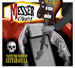 Image of LP. Messer Chups : Taste The Blood Of Guitaracula.  ORANGE VINYL.