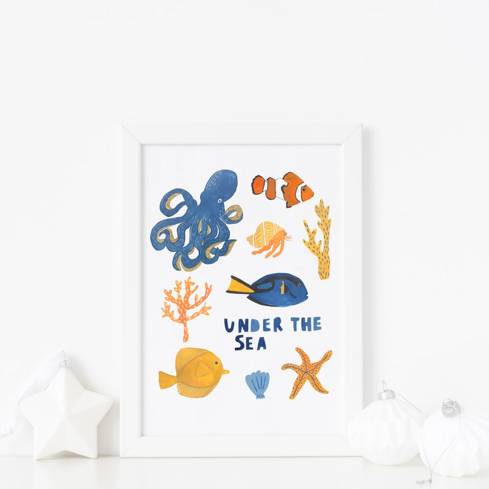 Image of Under The Sea print