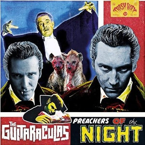 Image of LP. The Guitaraculas : Preachers Of The Night.