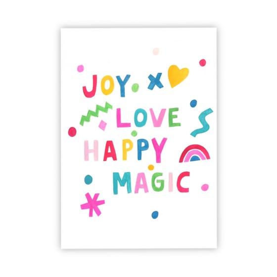 Image of Joy Love Happy Magic print
