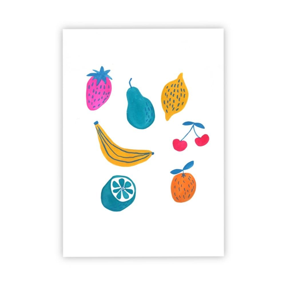Image of Fruit Medley print