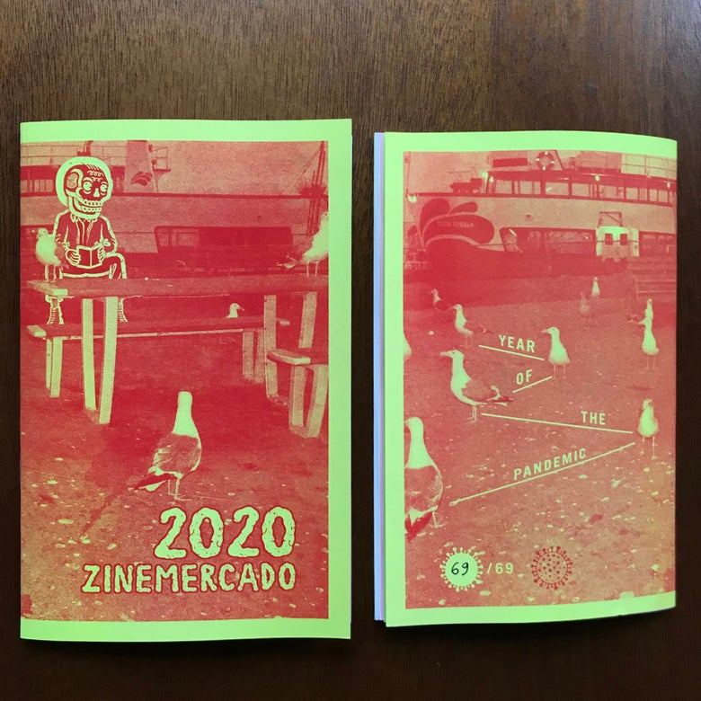 Image of ZINEmercado 2020 compilation ( 3 LEFT  )