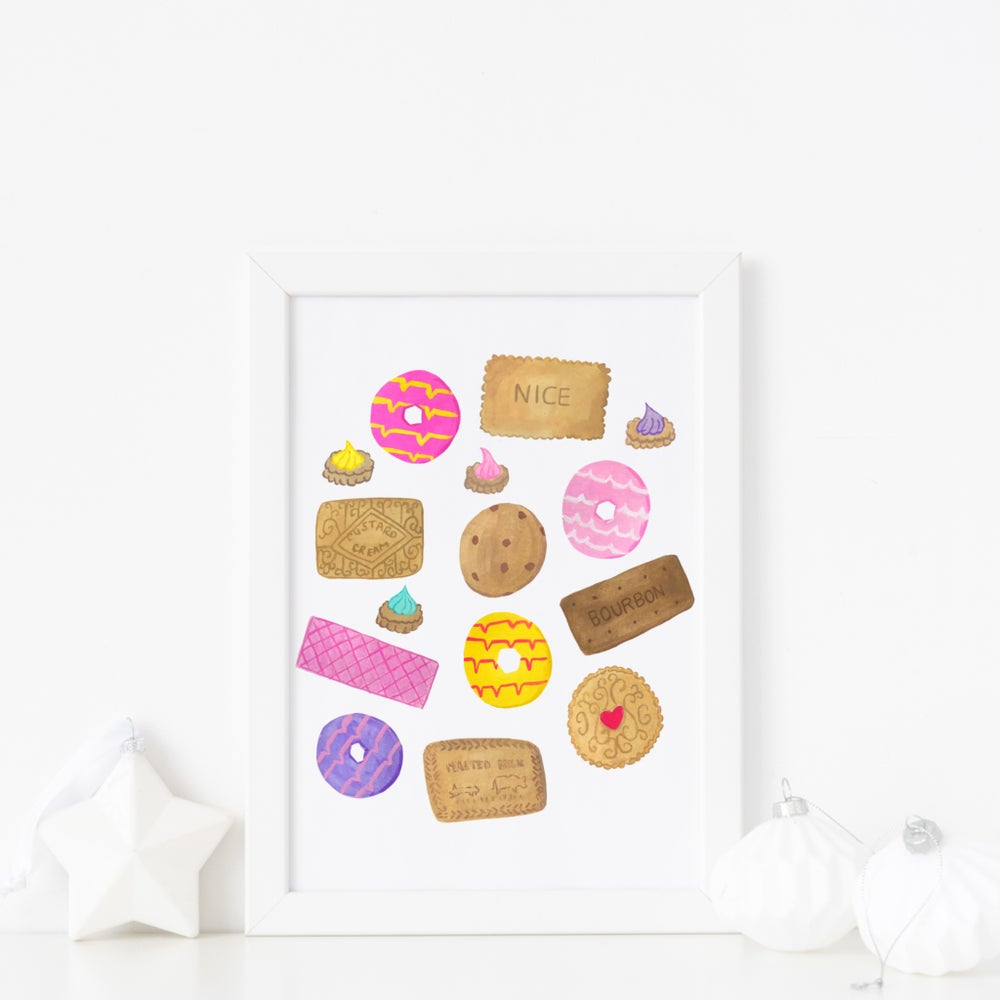 Image of Biscuits print