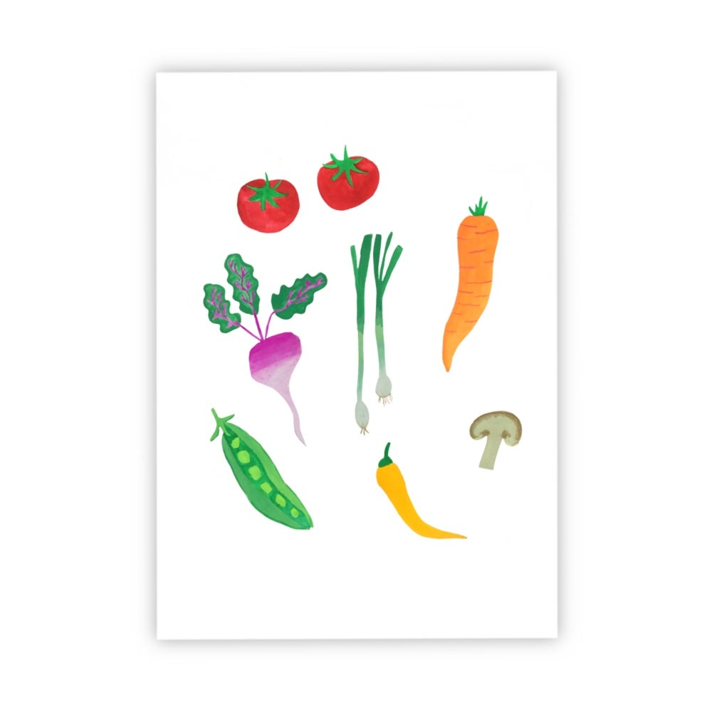 Image of Veg print