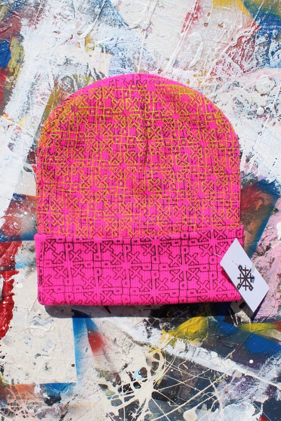 everywhere beanie in pink