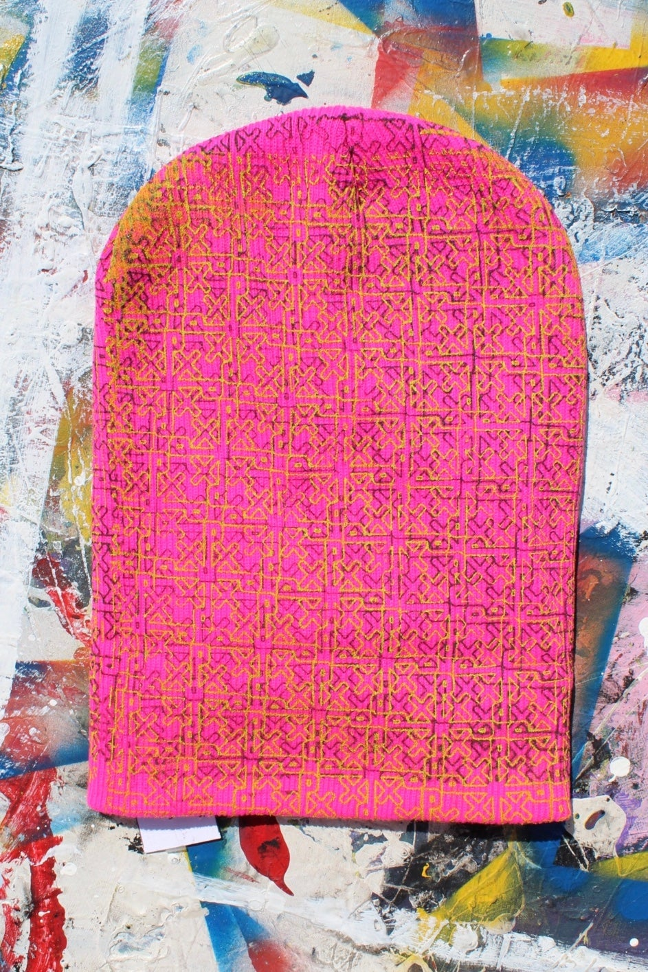 Image of everywhere beanie in pink