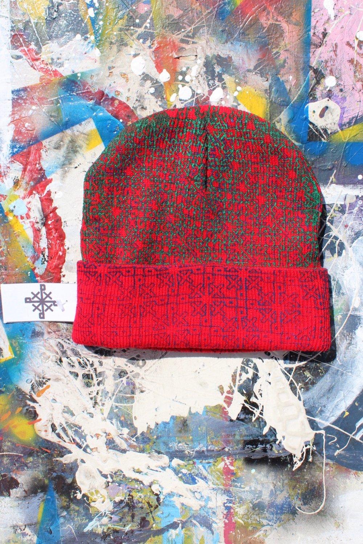 everywhere beanie in red