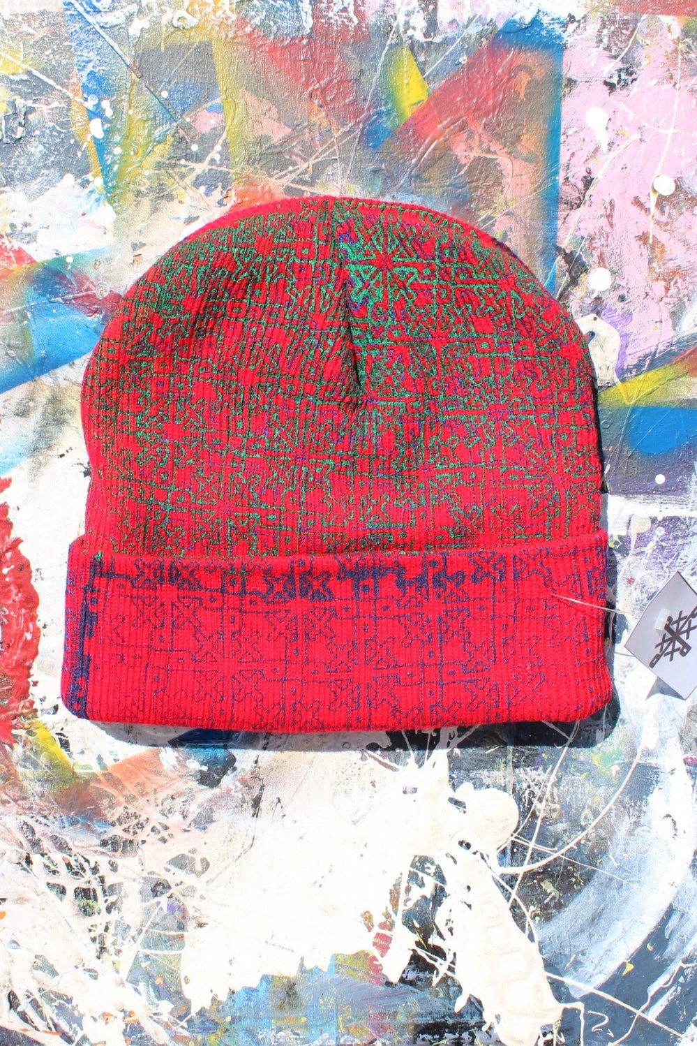 Image of everywhere beanie in red