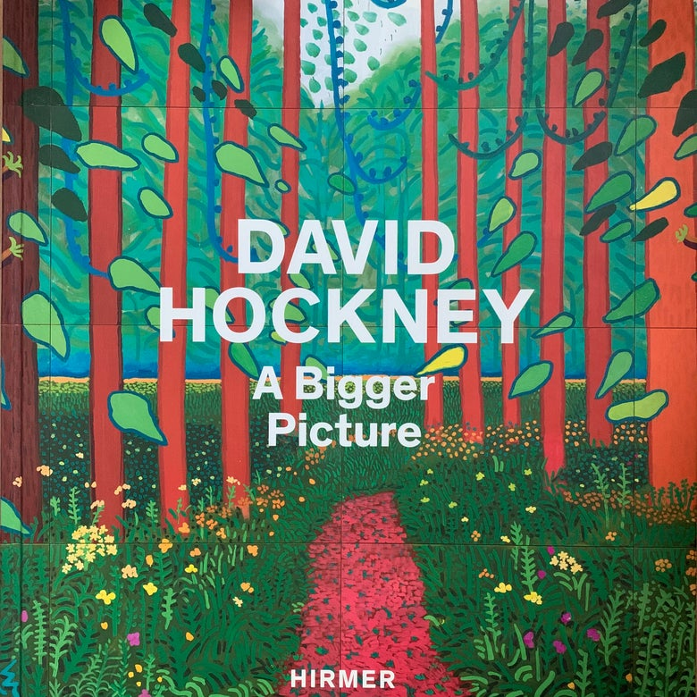 Image of (David Hockney)(ABigger Picture)