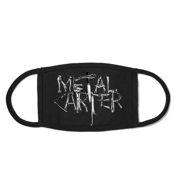 Image of Pandemic Mask Metal Carter Logo