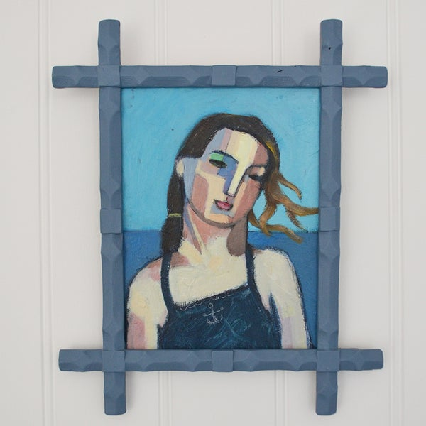 Image of Contemporary Painting, 'Hannah/Camber Sands,' Poppy Ellis