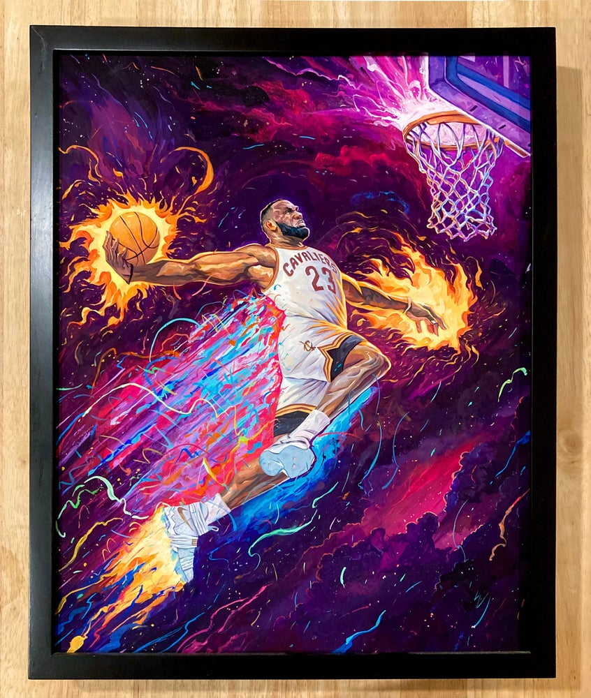 Image of King of the Court Original Painting