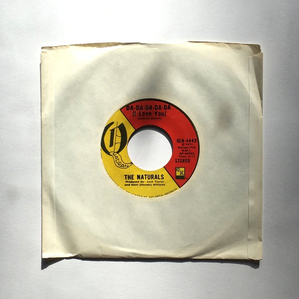 Image of THE NATURALS - DA-DA-DA-DA-DA (I LOVE YOU) / THIS LONELINESS 7""