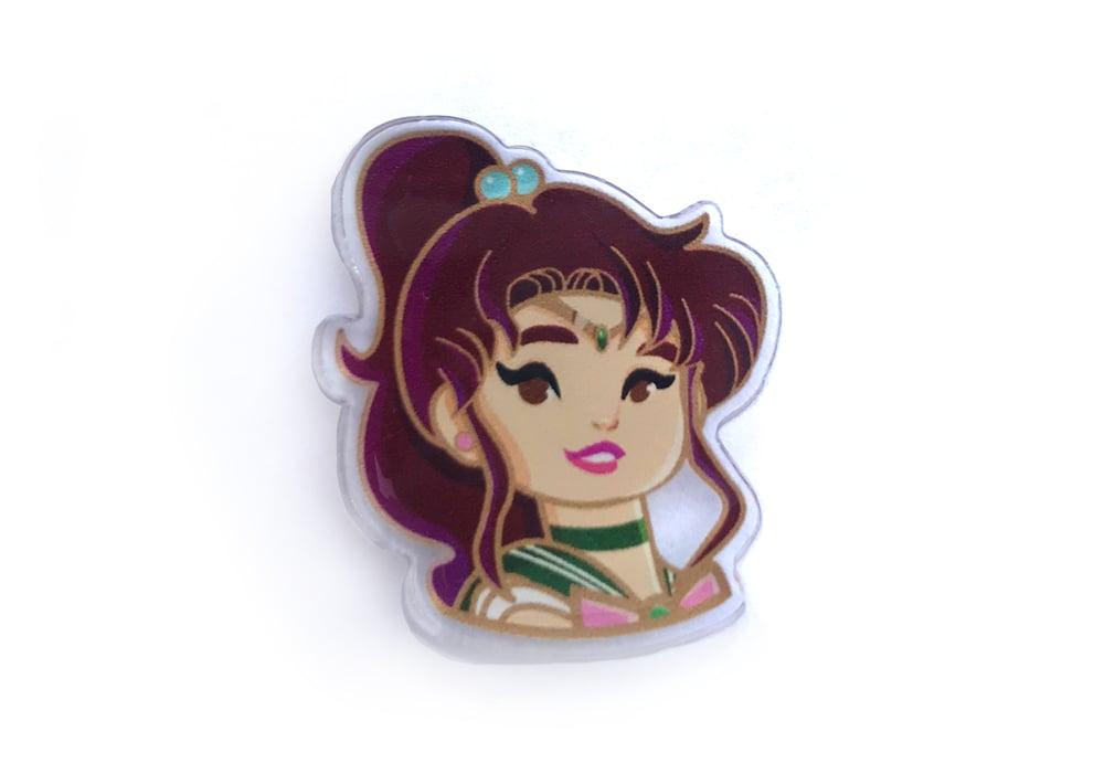 Image of Sailor Jupiter Acrylic Pin