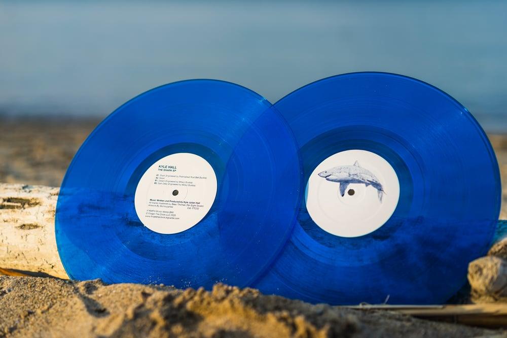 Image of Kyle Hall - The Shark EP - FTC02 - Aquatic Blue