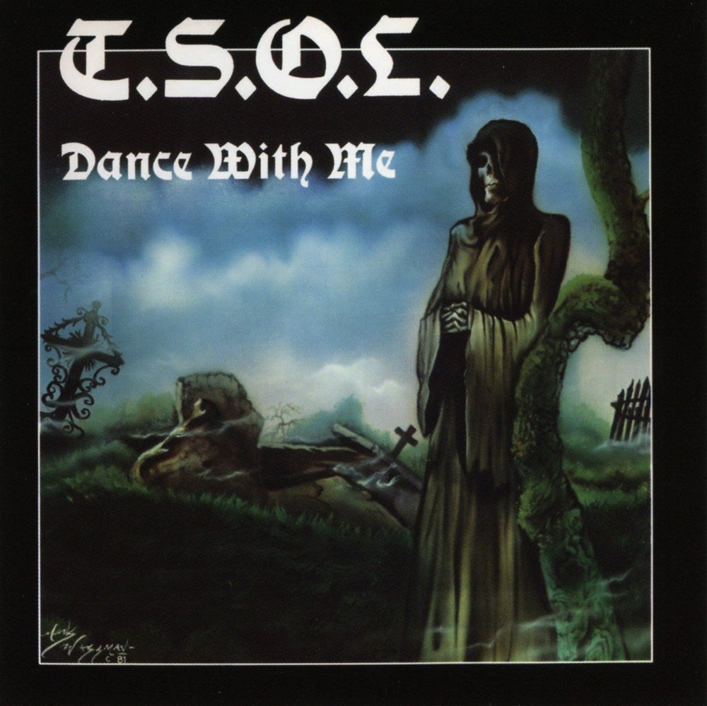 "Image of T.S.O.L. ""Dance with me"" LP"