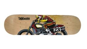 Image of Sideburn Wizard Skate Deck